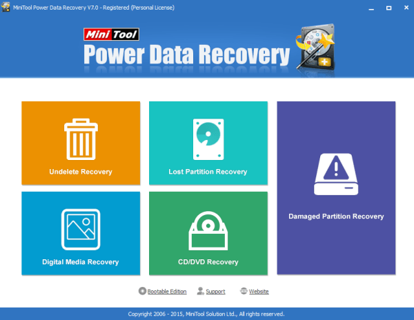 MiniTool Power Data Recovery 8.8 Crack Full With License Key 2020