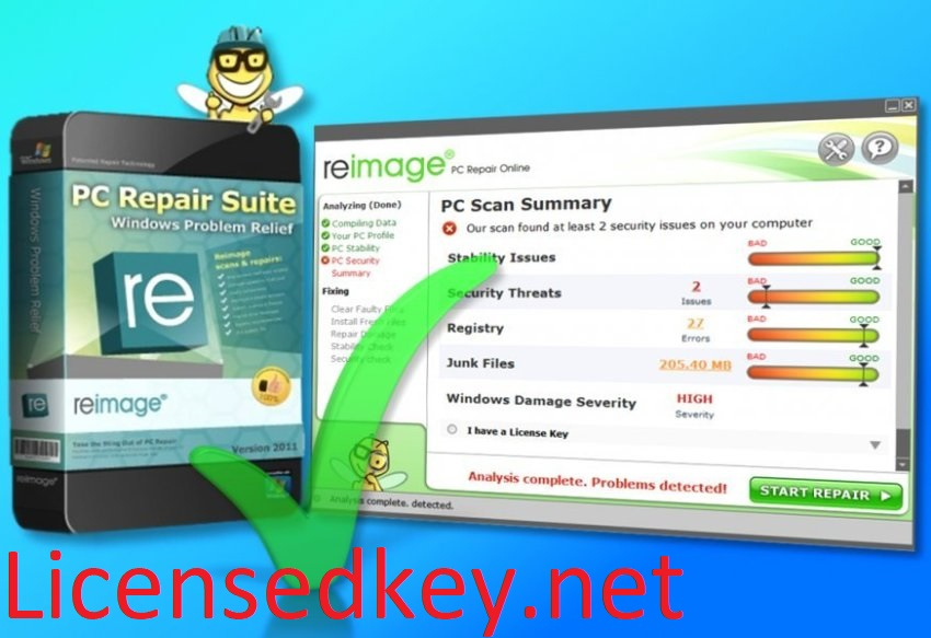 Reimage PC Repair 2020 Crack License Key Full Torrent {Latest}