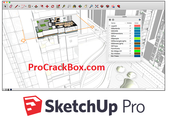 SketchUp Pro 2020 Crack License Key With Keygen Full Torrent