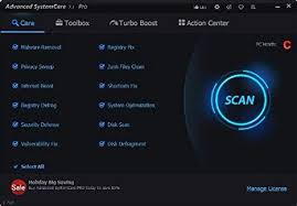 Advanced SystemCare PRO Key With Crack Free Download